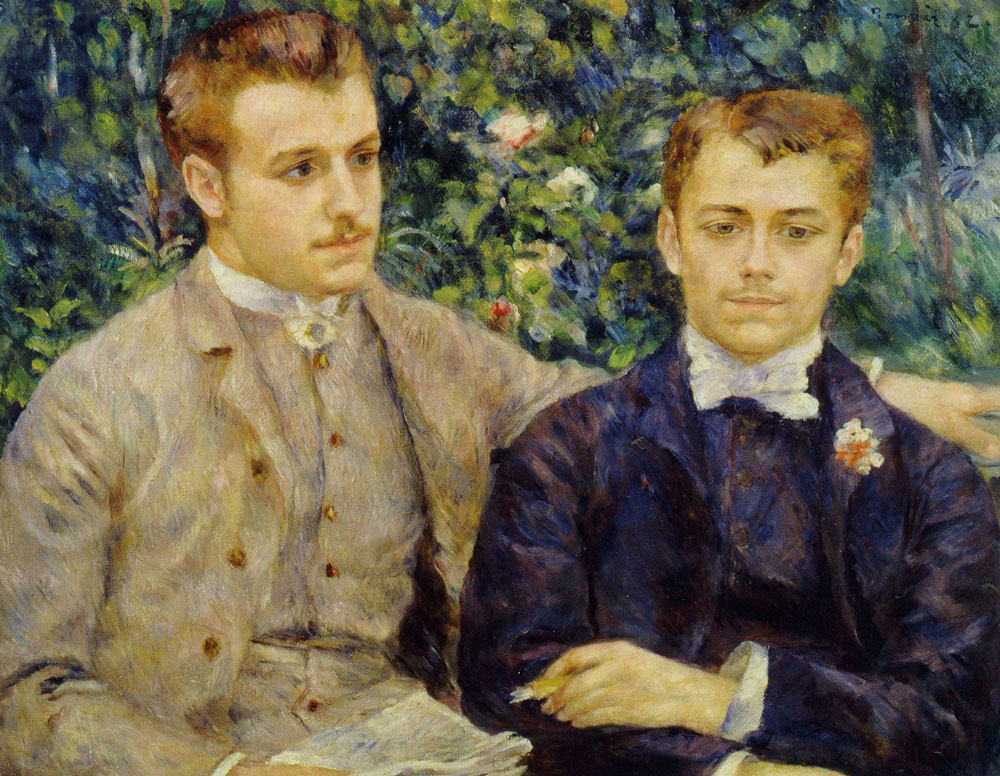 Pierre-Auguste Renoir - Charles and Georges Durand-Ruel