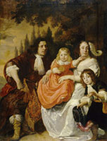 Bartholomeus van der Helst Portrait of Anthony Reepmaker, Susanna Gommaerts and their Sons Jacob and Ernst