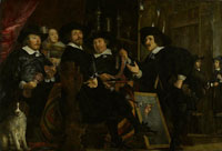 Bartholomeus van der Helst The headmen of the Longbow Civic Guard House