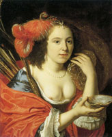 Bartholomeus van der Helst Portrait of a Woman as Granida