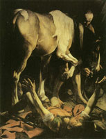 Caravaggio The Conversion of Saul