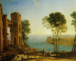 Claude Lorrain The Harbour of Baiae with Apollo and the Cumaean Sibyl