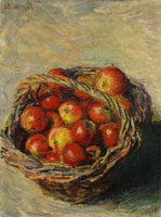 Claude Monet Basket of Apples