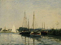 Claude Monet Pleasure Boats