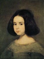 Diego Velazquez Portrait of a Little Girl