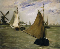 Edouard Manet Marine in Holland