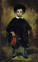 Edouard Manet The Young Lange