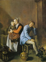 Judith Leyster Soldier's Family