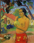 Paul Gauguin Woman Holding a Fruit