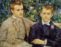 Pierre-Auguste Renoir Charles and Georges Durand-Ruel