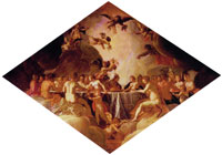 Pieter Isaacsz. Banquet of the Gods