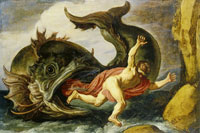 Pieter Lastman Jonah and the Whale