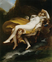 Pierre-Paul Prud'hon The Abduction of Psyche