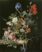 Willem van Aelst Flower Still-Life