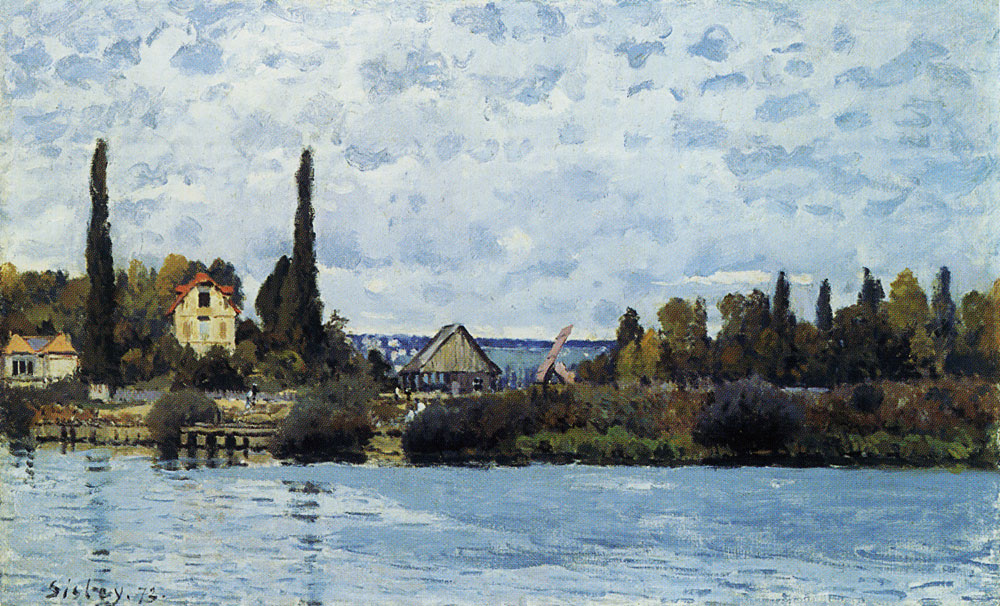 Alfred Sisley - The Seine at Bougival