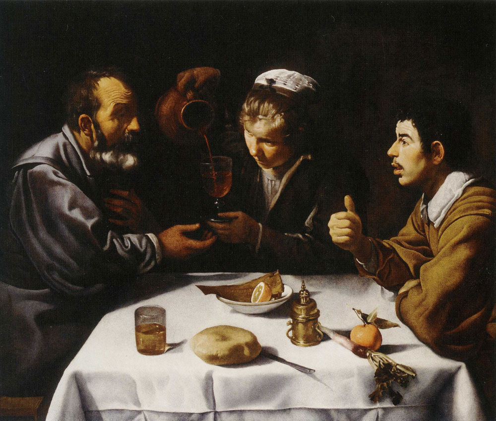 Diego Velazquez - The Luncheon (Peasants at Table)