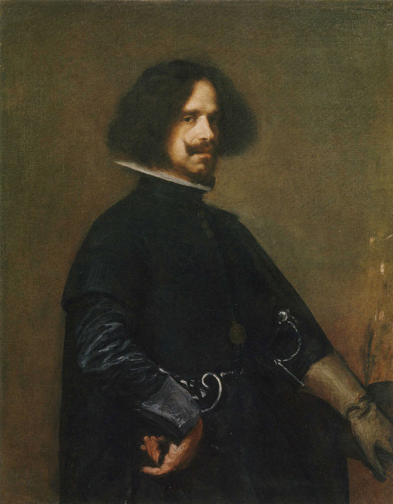 Attributed to Diego Velazquez - Self-Portrait