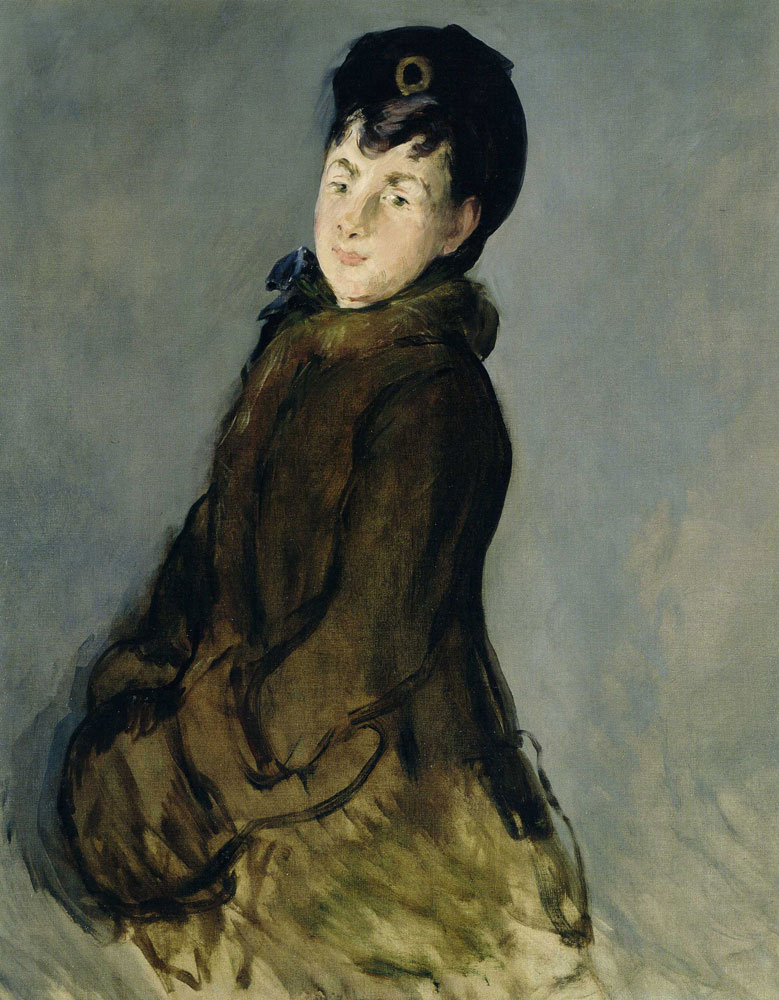 Edouard Manet - Portrait of Isabelle Lemonnier