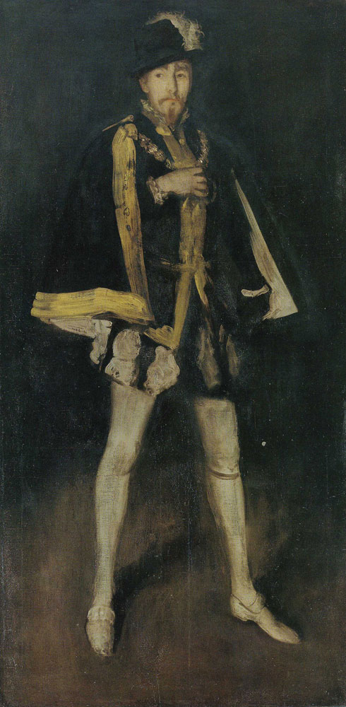 James Abbott McNeill Whistler - Arrangement in Black, No. 3: Sir Henry Irving as Philip II of Spain