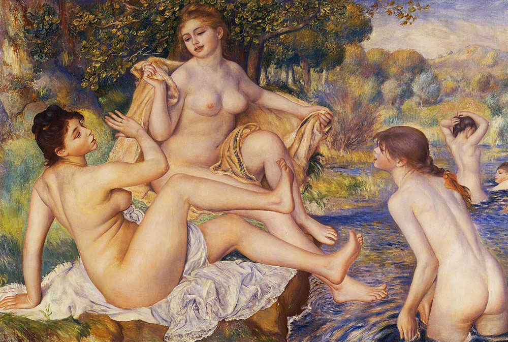Pierre-Auguste Renoir - The Large Bathers