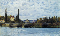 Alfred Sisley The Seine at Bougival
