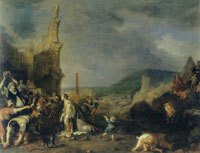 Bartholomeus Breenbergh The Stoning of St. Stephen