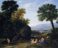 Claude Lorrain The Rest on the Flight into Egypt