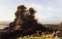 Claude Lorrain The Sermon on the Mount