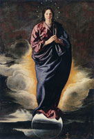 Diego Velazquez The Immaculate Conception