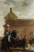 Diego Velazquez Prince Baltasar Carlos in the Riding School