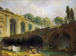 Hubert Robert - The Villa Madama near Rome
