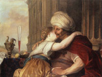 Jacob Adriaensz. Backer Isaac and Rebecca Making Love