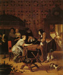 Jan Steen A Game of Backgammon