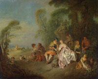 Jean-Baptiste Pater Country Party