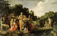 Pieter Lastman The Baptism of the Eunuch