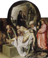 Pieter Lastman The Entombment of Christ