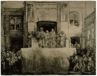 Rembrandt Christ presented to the people (Ecce Homo)
