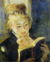Pierre-Auguste Renoir The Reader