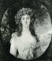 Attributed to Thomas Gainsborough Mrs. Charles Hatchett