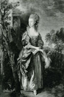 Thomas Gainsborough The Hon. Frances Duncombe