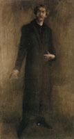 James Abbott McNeill Whistler Brown and Gold: Self-Portrait