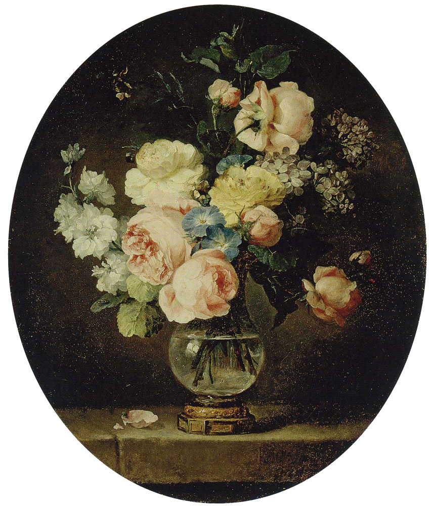 Anne Vallayer-Coster - Vase of Flowers
