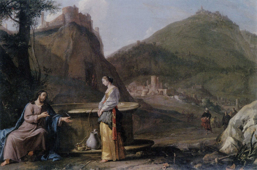 Bartholomeus Breenbergh - Christ and the Samaritan Woman