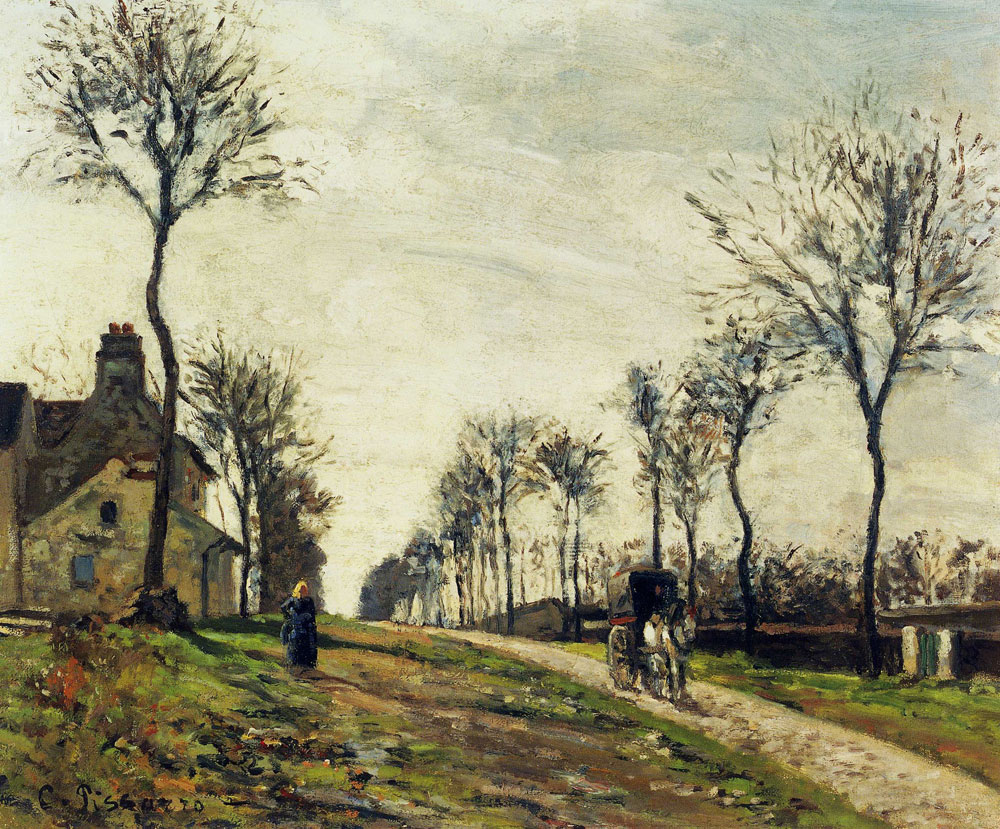 Camille Pissarro - The Marly Road