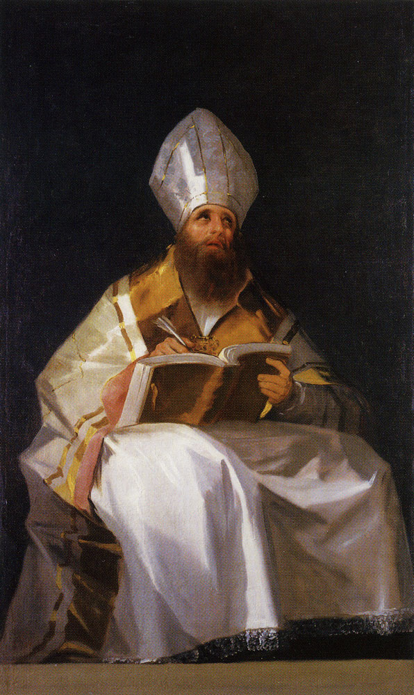 Francisco Goya - Saint Ambrose