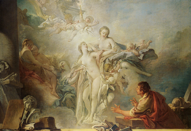 François Boucher - Pygmalion and Galatea
