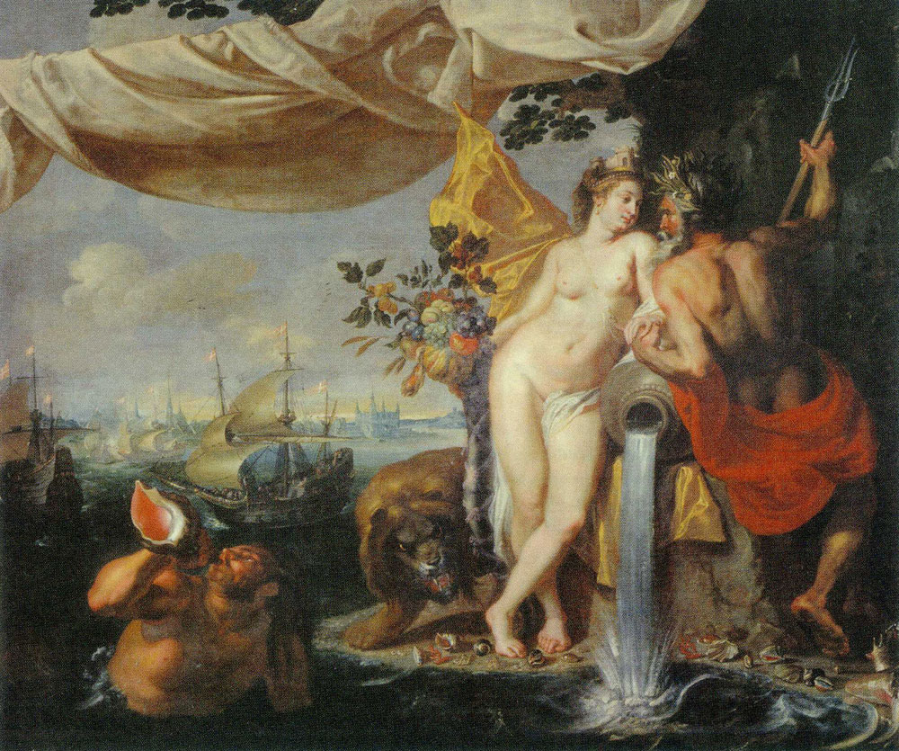 Isaac Isaacsz. - Allegory of the Union of the Sound with the Danish Lands