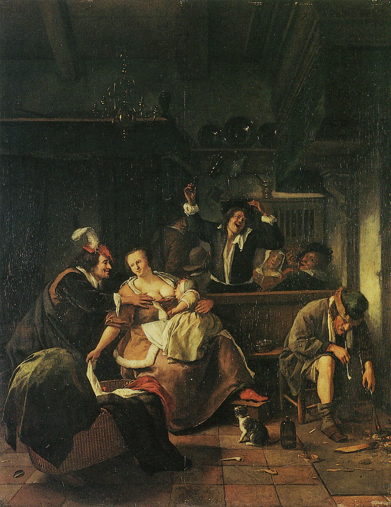 Jan Steen - Interior