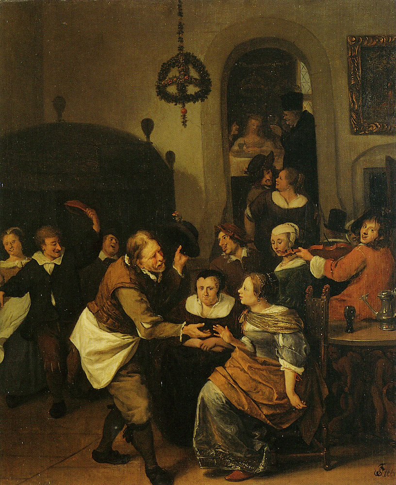 Jan Steen - The Wedding Party