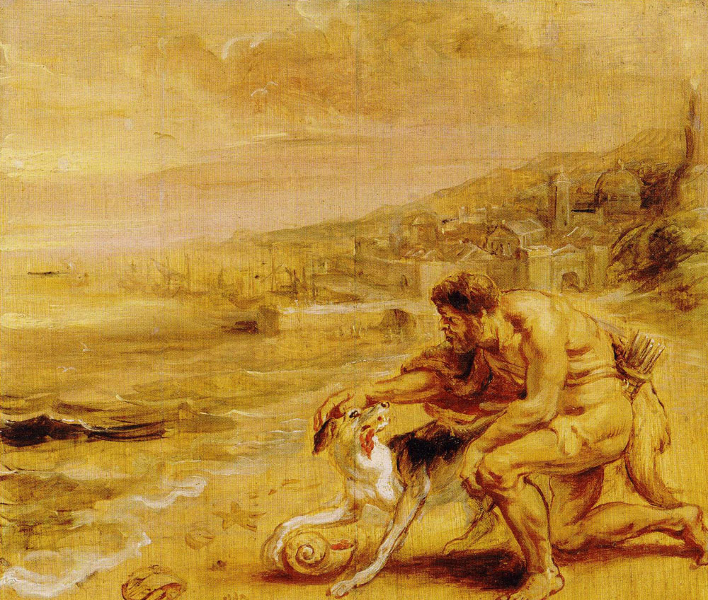 Peter Paul Rubens - Hercules and the Discovery of the Tyrian Purple
